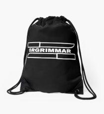 Orgrimmar Drawstring Bag