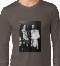 Tsar Nicholas II and King George V - Royal Cousins - 1913 Long Sleeve T-Shirt