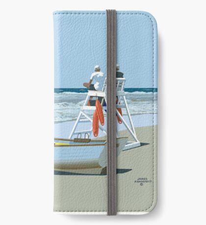 Avalon Beach Patrol iPhone Wallet