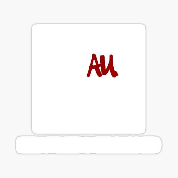 Faux News White Logo Sticker