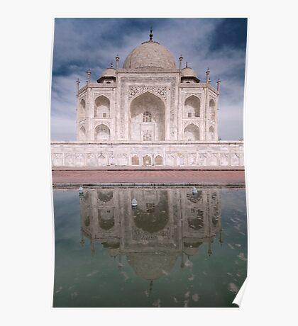 Reflections Of Love, The Taj Mahal, Agra, India. Poster