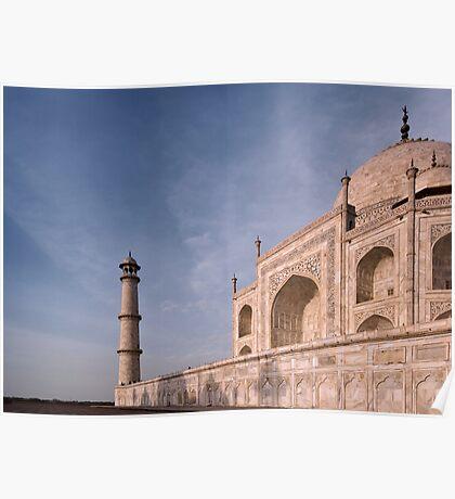 The Taj Mahal, Agra, India. Poster