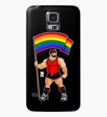 ADAM LIKES PRIDE FLAG - RED OUTFIT Case/Skin for Samsung Galaxy