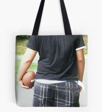 Walking Alone Tote Bag