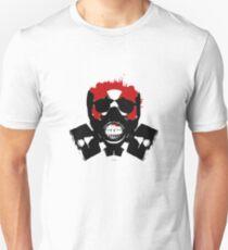 skull isolated radioactivity Unisex T-Shirt