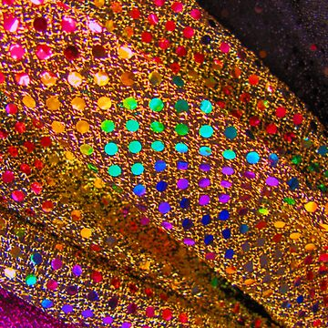 sequined gold by rhoadsette