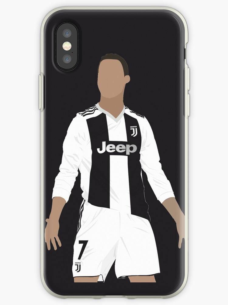 online retailer 42c79 7b3f5 'Cristiano Ronaldo at Juventus vector art' iPhone Case by JoeyMallat