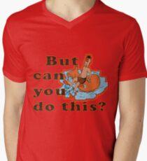 Can you do this  ? Men's V-Neck T-Shirt