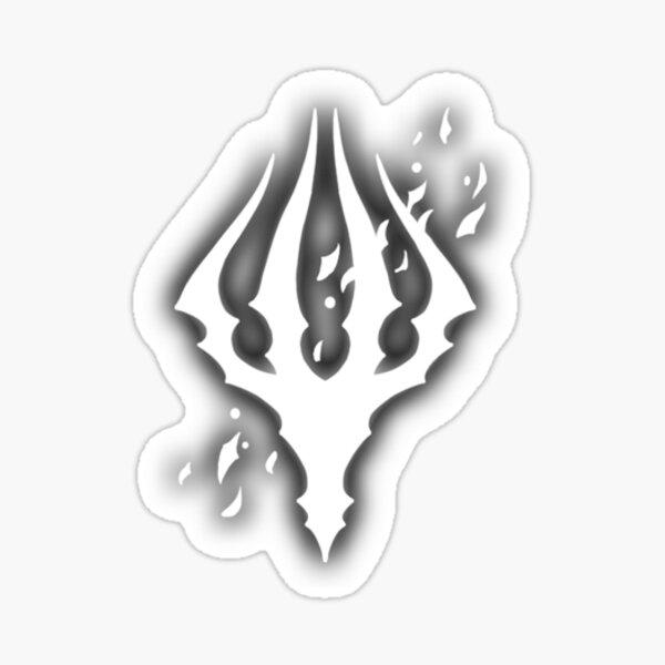 Hollow Knight King's Brand Sticker