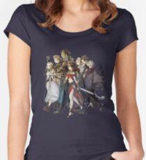 Octopath Traveler® - Reisende Tailliertes Rundhals-Shirt