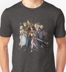 Octopath Traveler® - Reisende Slim Fit T-Shirt