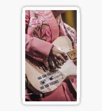 Harry Styles Guitar Sticker