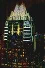 Downtown Austin at Night by Cathy Jones