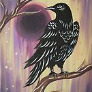 Watchful Raven by Express Yourself Artshop