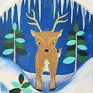 Deer Friend by Express Yourself Artshop