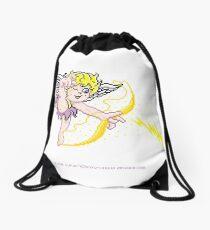 Pixel Cupid 3 Drawstring Bag