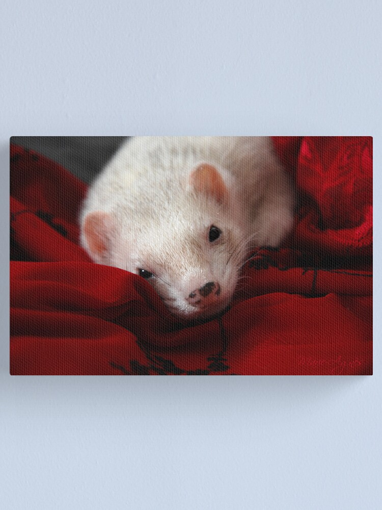 Alternate view of The Elegance Canvas Print