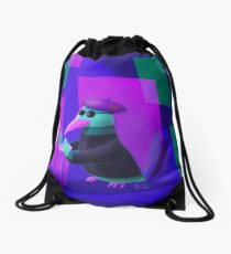 Feather Bongo Beats Drawstring Bag