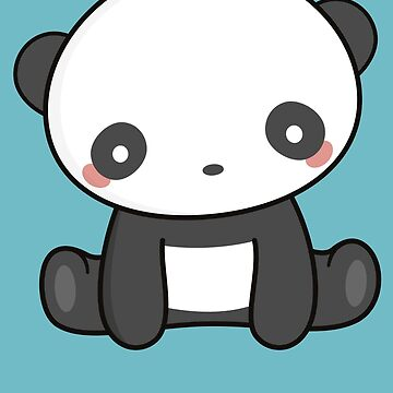 Kawaii Cute Panda Bear  by happinessinatee