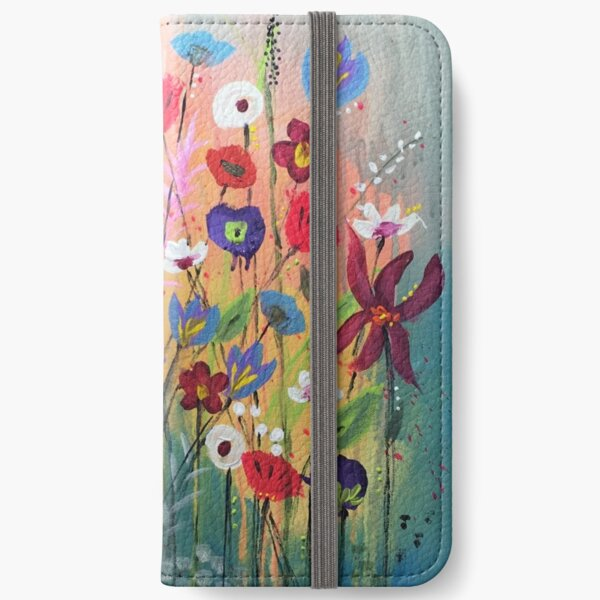 Magical Blooms iPhone Wallet