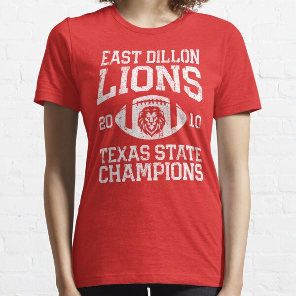 East Dillon Lions Texas State Football Champions Essential T-Shirt