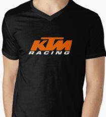 ktm racing Men's V-Neck T-Shirt