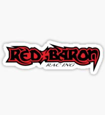 Red Baron Racing Sticker