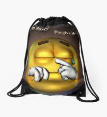 Sorry Drawstring Bag