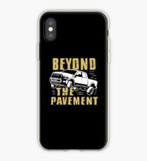 Beyond The Pavement T-shirt iPhone Case