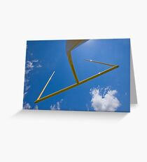 Goal post Greeting Card