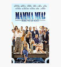 Mamma Mia! Here We Go Again (2018) Photographic Print
