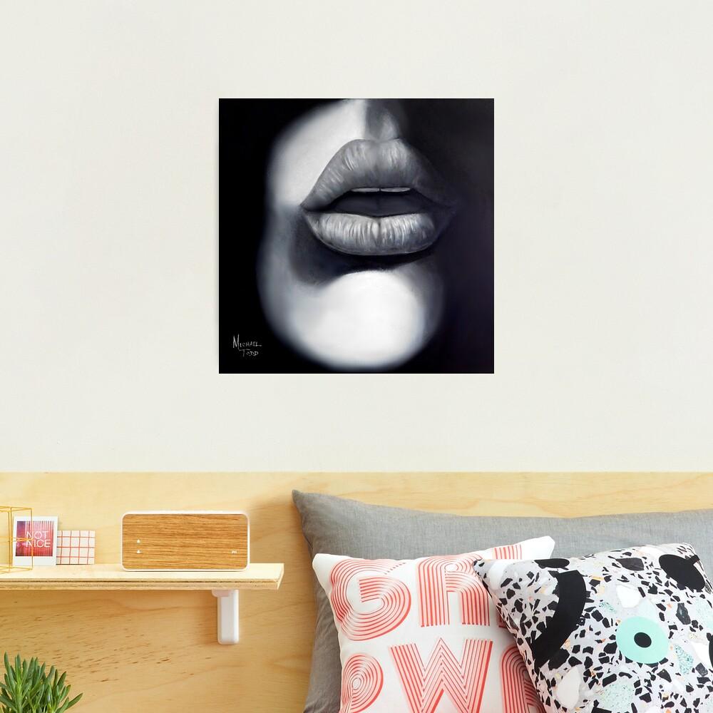Kiss me Photographic Print
