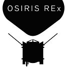 OSIRIS REx Mission Black Design by Ray Cassel