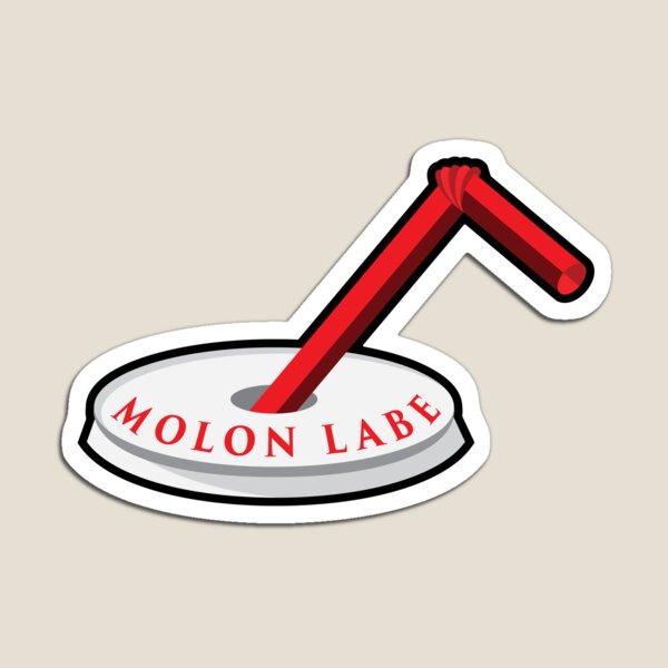 Molon Labe Straw Magnet