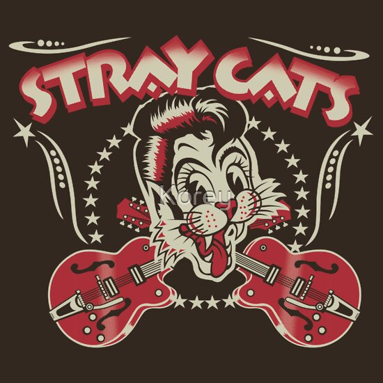TShirtGifter presents: Stray Cats