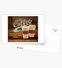 Castle's Coffee Postcards