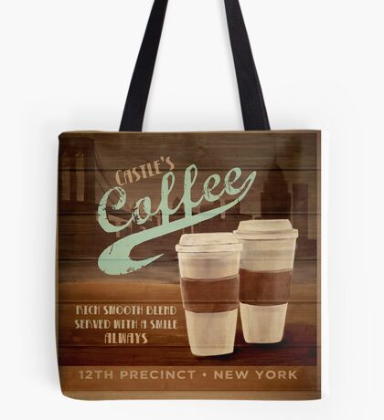 Castle's Coffee Tote Bag