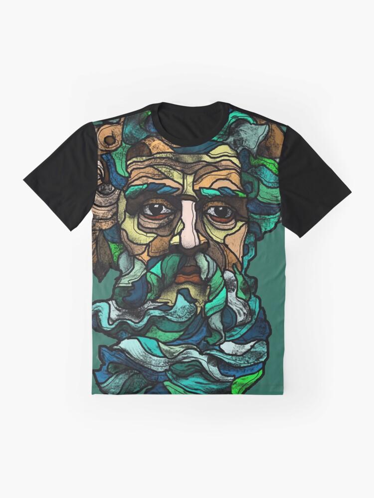 Alternate view of Aquarius Graphic T-Shirt
