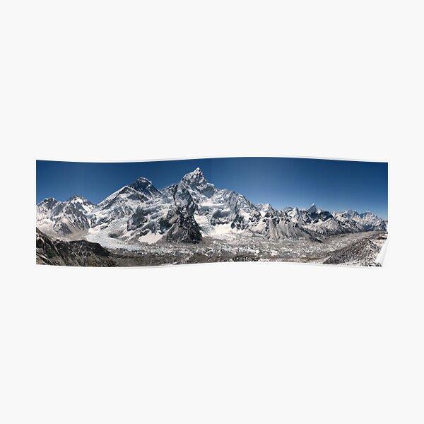 Chaîne de l'Himalaya Everest Poster