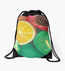 Tropcial Fruit Drawstring Bag