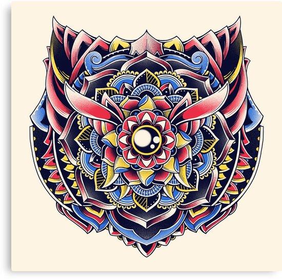 «Cat Mandala» de GODZILLARGE