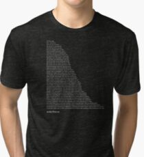Camiseta de tejido mixto Citas de Jordan Peterson