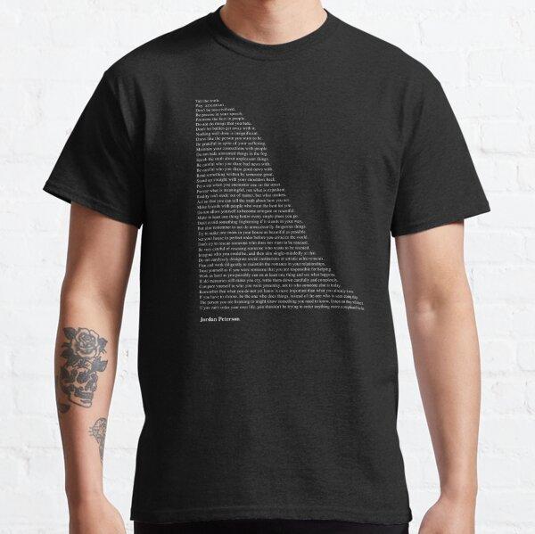Citations de Jordan Peterson T-shirt classique