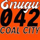 Enugu 042 Coal city T shirt  - Dark text  by Learn Igbo Now