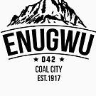 Enugwu 042 T- shirt - Dark text  by Learn Igbo Now