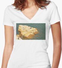 D3 Women's Fitted V-Neck T-Shirt