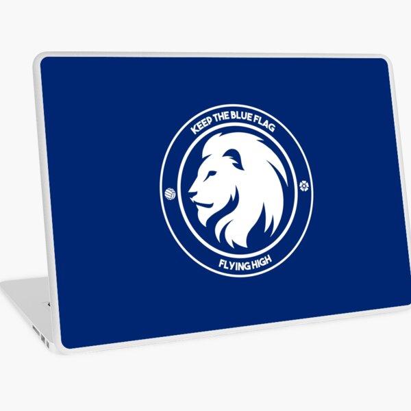 Keep the Blue Flag Flying High Laptop Skin
