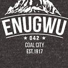 Enugwu 042 T- shirt - white text by Learn Igbo Now