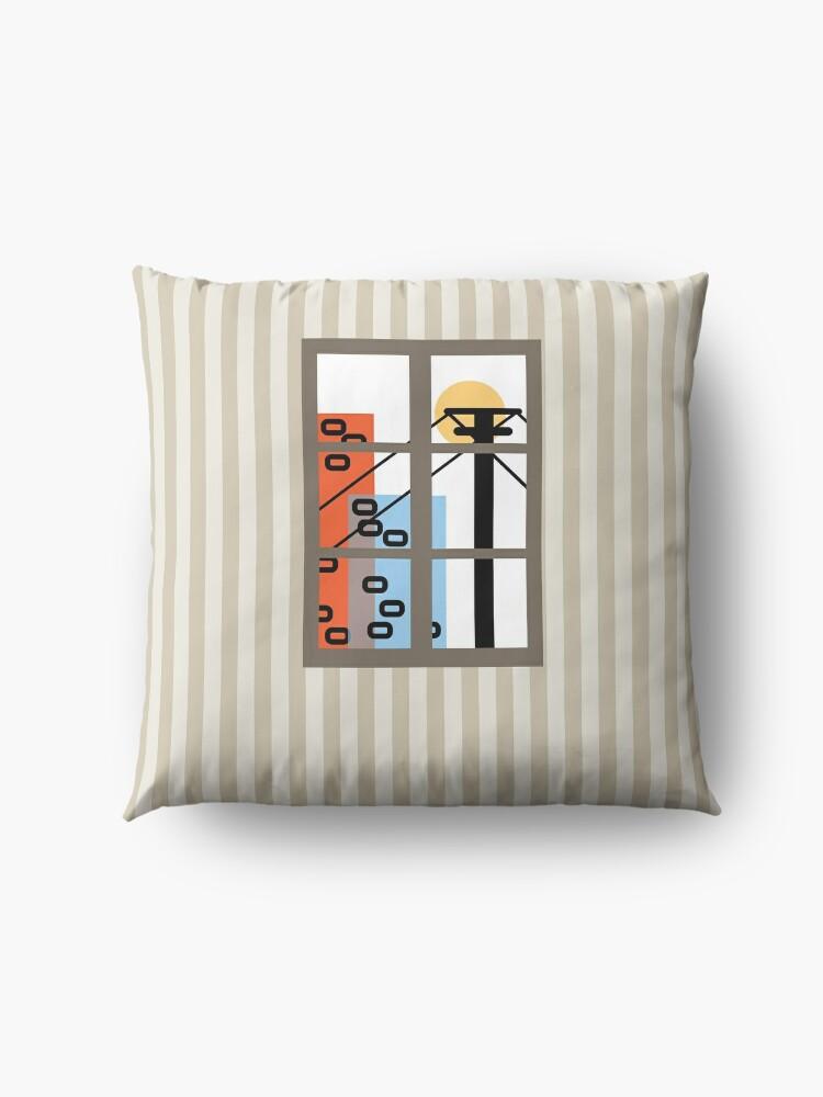 Alternate view of Wide Window Floor Pillow