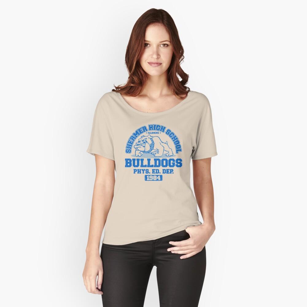 SHERMER HIGH SCHOOL Loose Fit T-Shirt